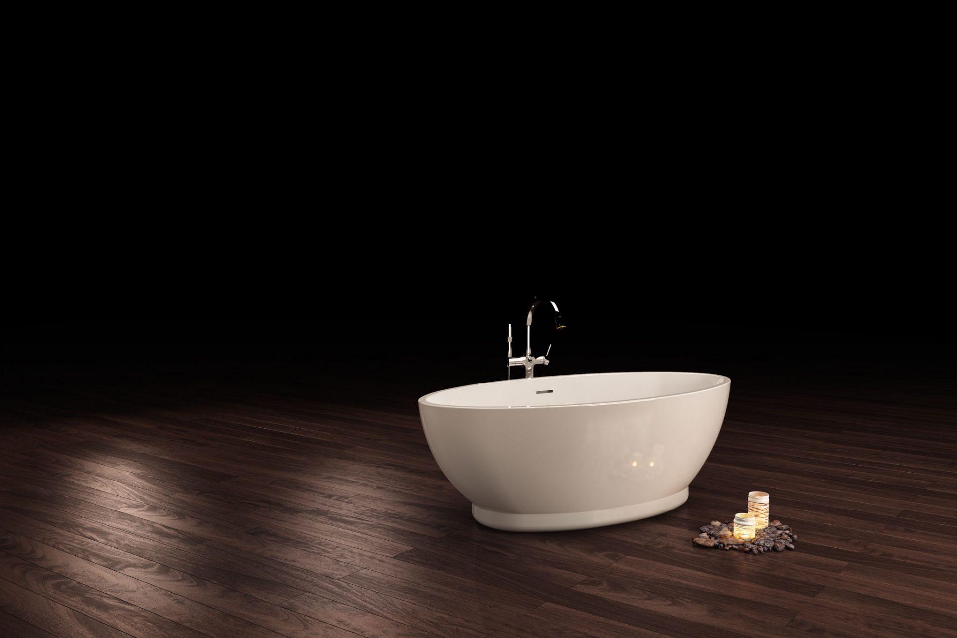 Product 3D Visualisation, Bath Manufacturer Product Brochure Images ...